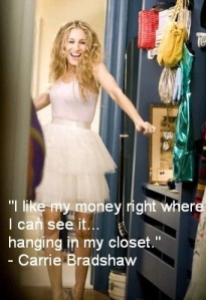 Carrie wardrobe quote