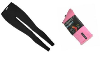 Leggings and socks
